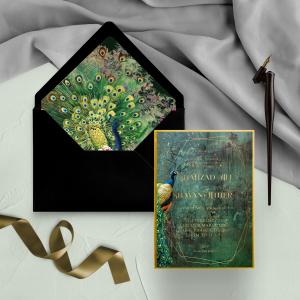 wedding card, wax seal Pakistan